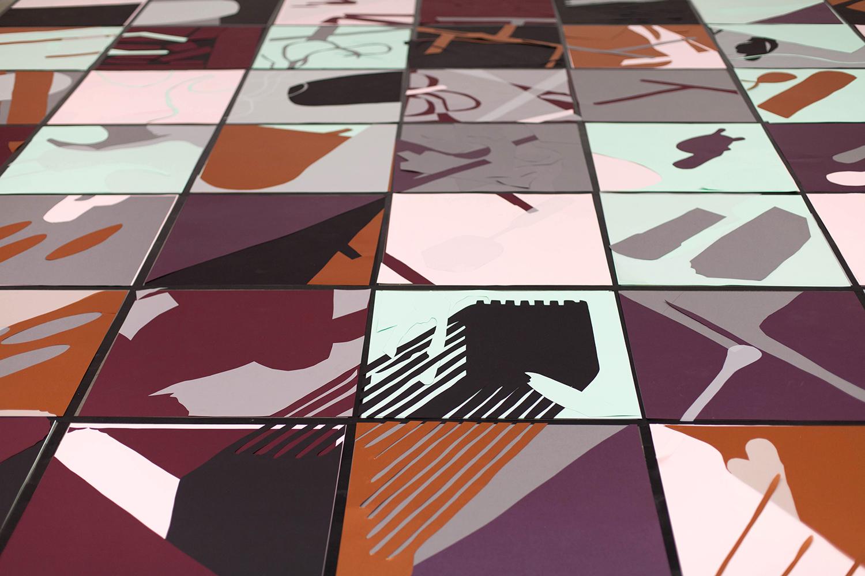 Live Collage Biennale Interieur